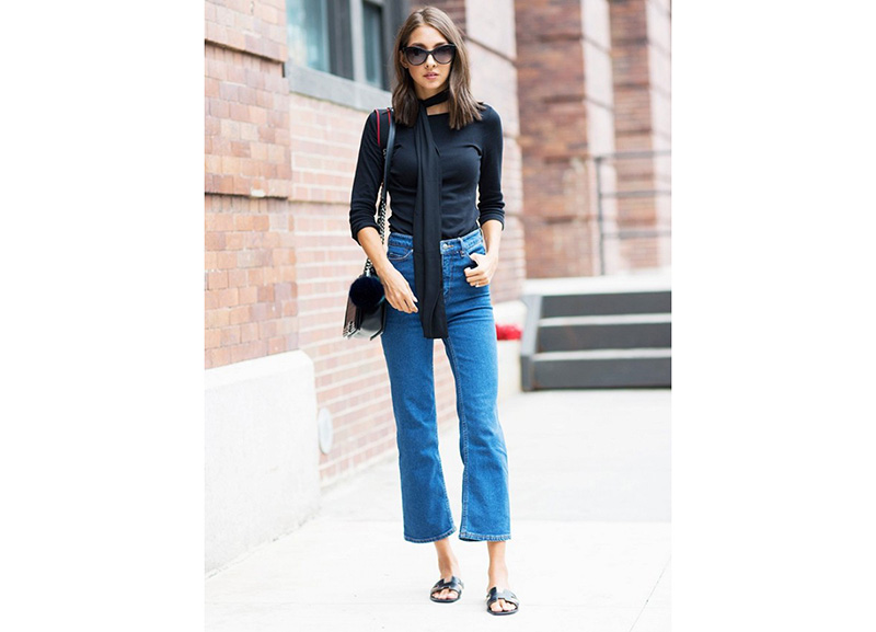 TREND: cropped flared jeans!